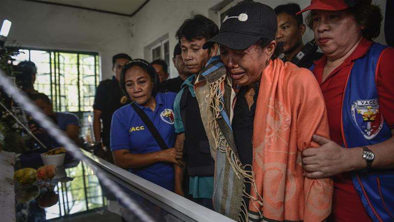 Duterte has referred to children killed during police operations as 'collateral damage' [Ezra Acayan/Al Jazeera]