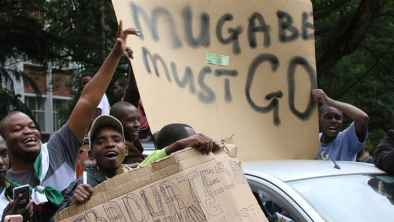ZANU-PF tells Mugabe to resign or face impeachment