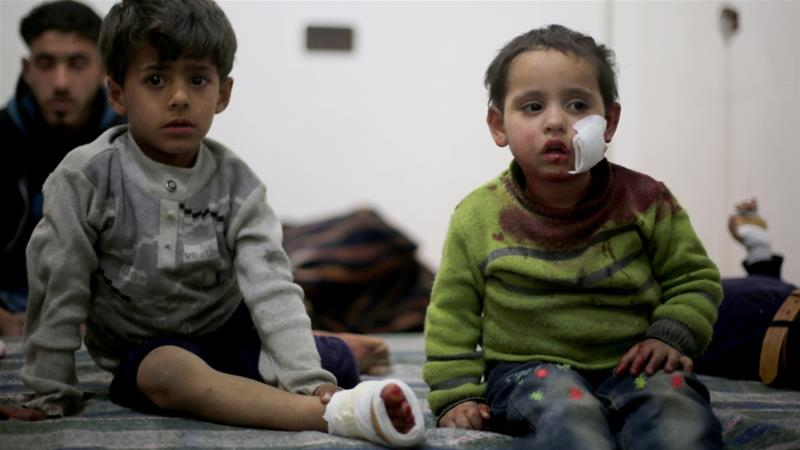 UNICEF: Children suffer at shocking scale of war