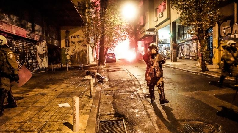 Protests and riots as Greece remembers student uprising