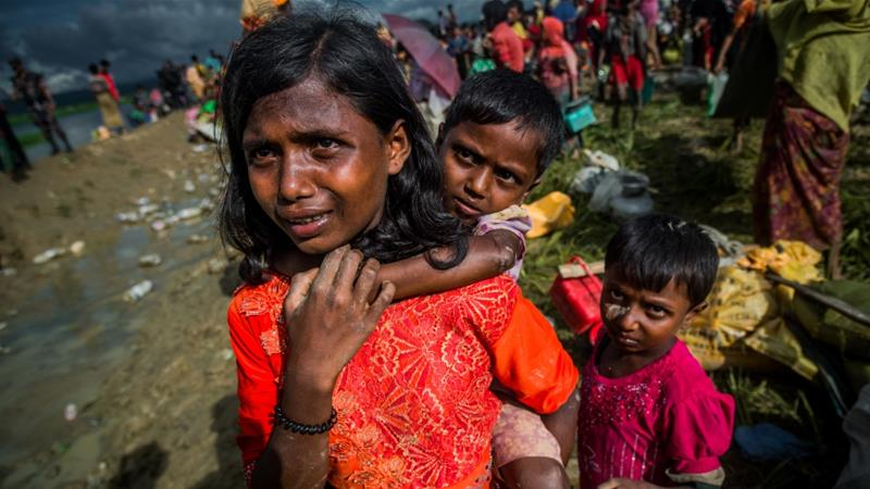 Who can protect the Rohingya Muslims?