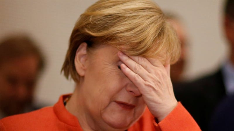 Merkel in favour of snap poll over minority government