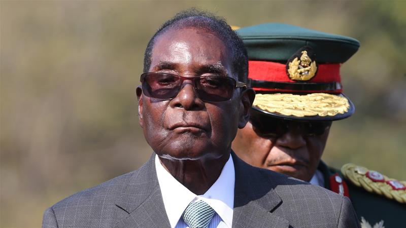 Mugabe resigned after 37 years in power following an army intervention in November 2017 [File: Aaron Umufeli/EPA-EFE]
