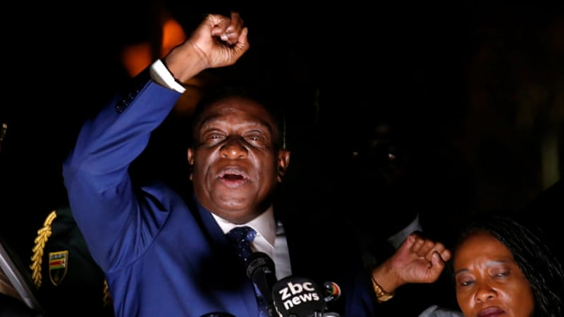 Who is Emmerson Mnangagwa, Zimbabwe's 'Crocodile'? | Zimbabwe News ...