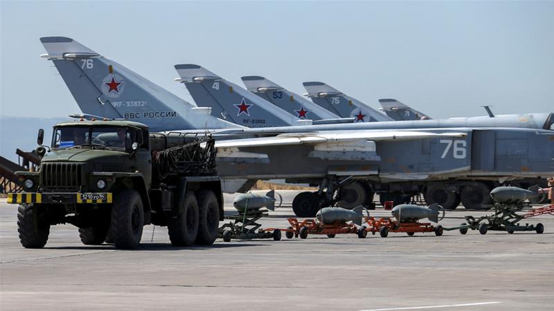 53 civilians killed by Russian air strikes in Syria