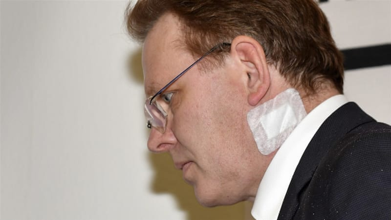 German pro-refugee mayor Andreas Hollstein stabbed