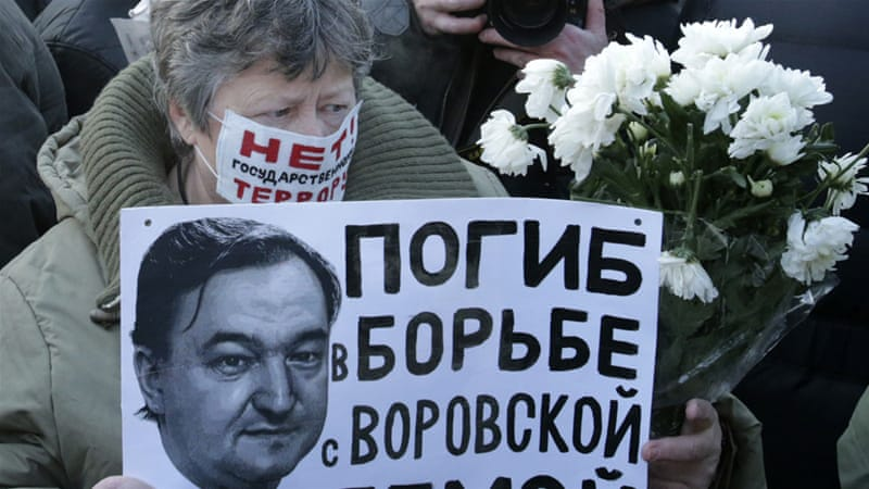 Sergei Magnitsky, activist killed by Russians while jailed