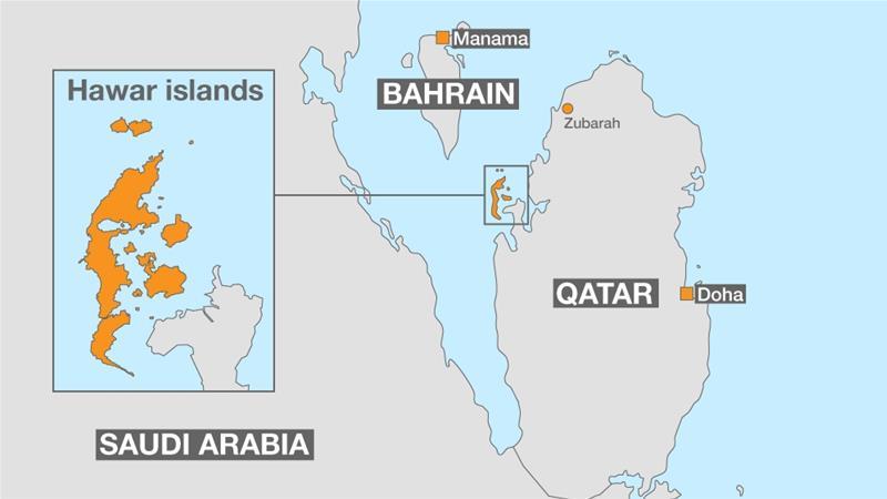 Bahrain Reopens Border Dispute With Qatar Qatar News Al Jazeera - Bahrain interactive map