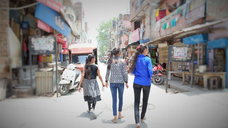 More than 95 percent of women and girls in New Delhi report feeling unsafe in public spaces [Alia Dharssi/Al Jazeera]