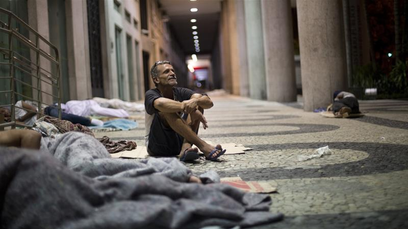 'Rio faces worst possible scenario over homelessness'