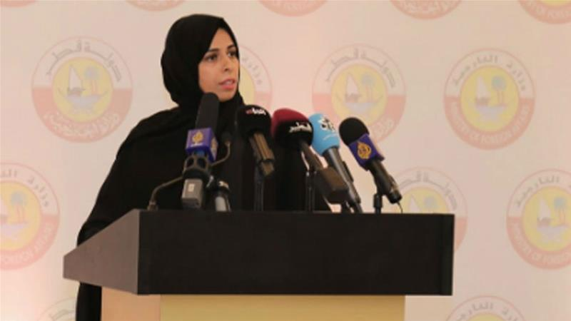 Foreign ministry spokesperson Lulwah Al Khater said the blockade has caused material and moral damage to Qataris [File: QNA]