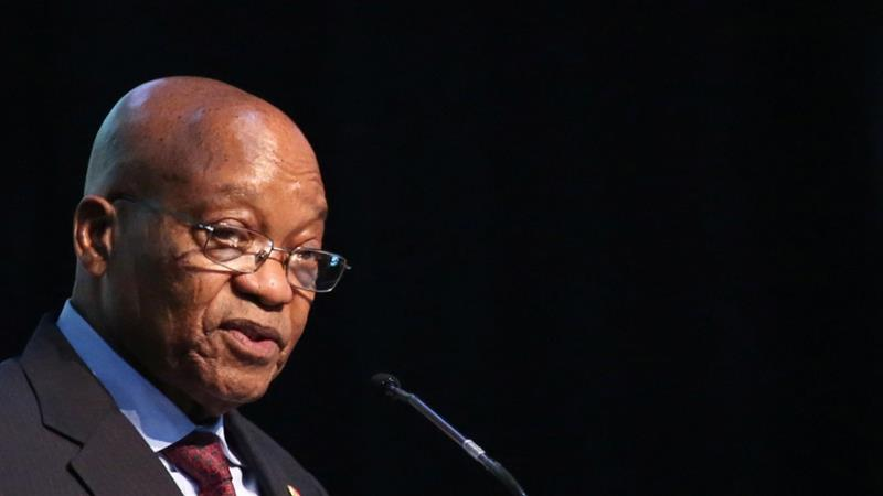 Zuma has been dogged by corruption scandals since becoming president in 2009 [Siphiwe Sibeko/Reuters]