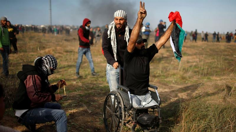Palestinian double amputee killed by Israeli sniper