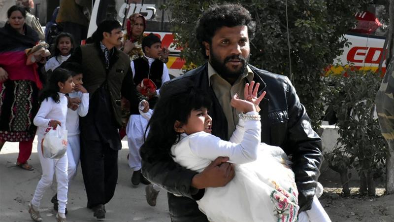Pakistan: Quetta church hit in suicide attack