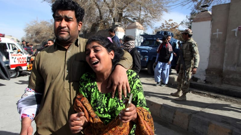 Pakistan: Quetta church hit in suicide attack