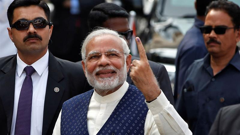 Modi declares BJP victory in Gujarat state election