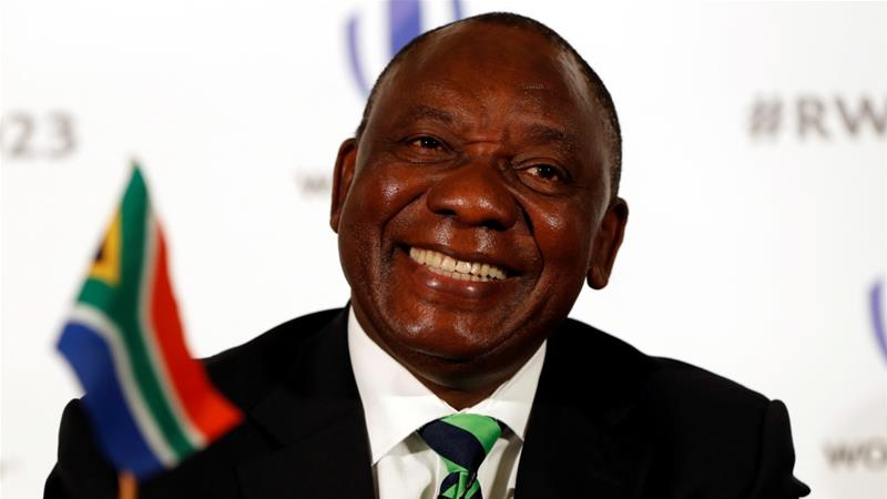 ANC's Cyril Ramaphosa elected president of South Africa