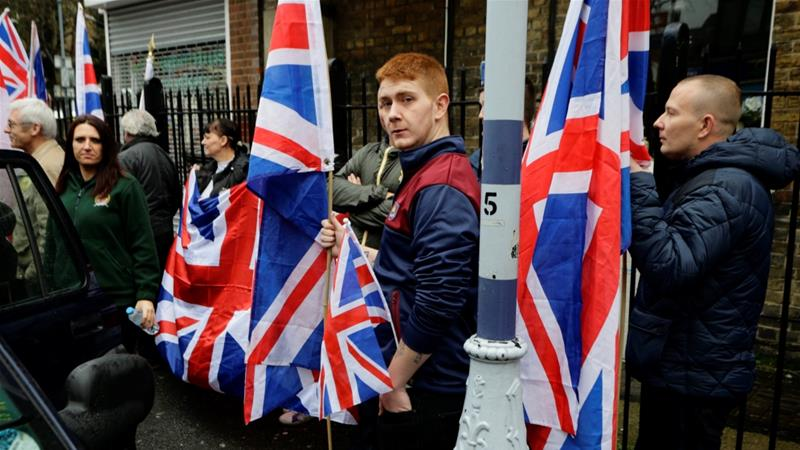 Twittwe suspends Britain First group