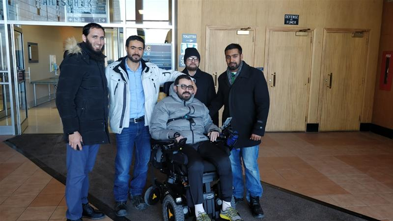 Paralysed Quebec mosque attack 'hero' receives $310,000
