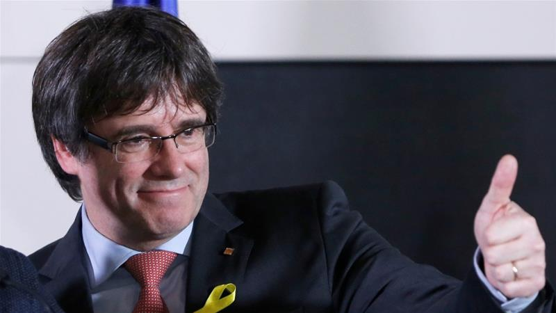 If Puigdemont attempts to rule from Belgium, Rajoy promises to continue direct rule through Article 155 [Francois Lenoir/Reuters]
