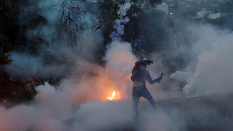 Recent protests have increased exposure of Palestinians to tear gas, says a new study [File: Reuters]