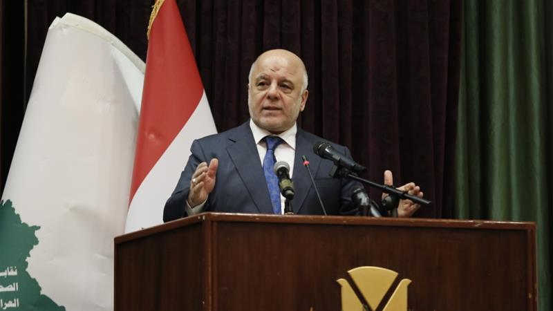 PM Abadi says Iraq wants to 'keep away' from US-Iran conflict