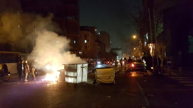 What triggered Iran's protests?