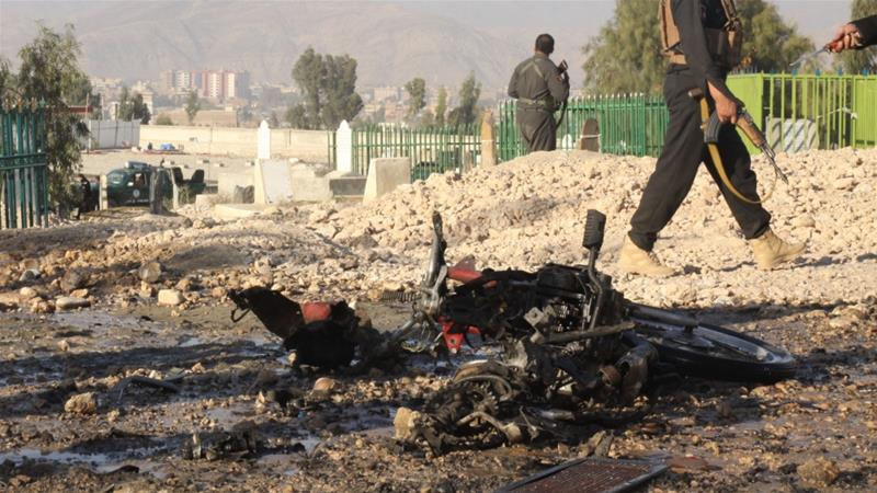 Deadly bombing targets Afghan official's funeral