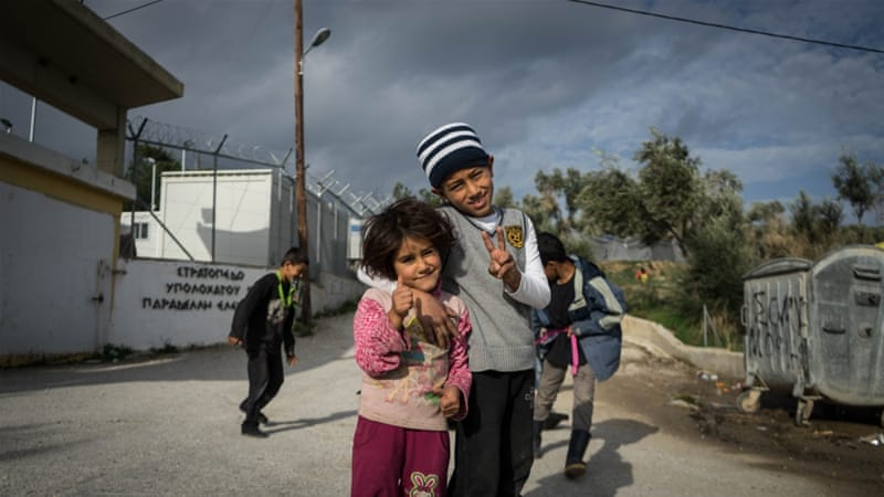 Refugees fear winter at cramped and decrepit Moria camp
