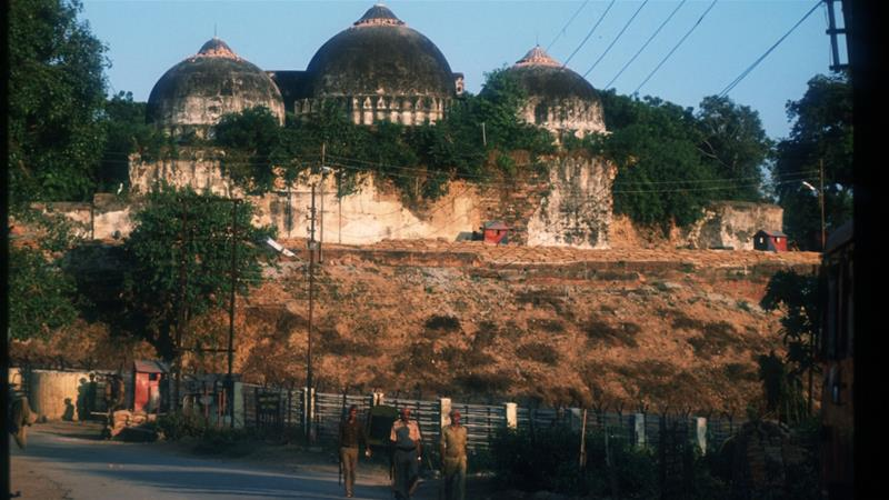 Tight security in Ayodhya ahead of Babri mosque-Ram temple ruling