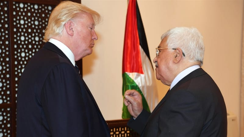 "Abbas gave Trump warning of ""dangerous consequences"" of such a move [File: Getty Images]"