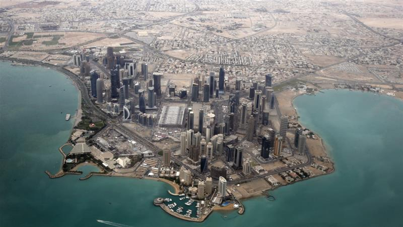 A Saudi-led bloc cut off Qatar's land border and its air and sea routes in June last year [File: Reuters]