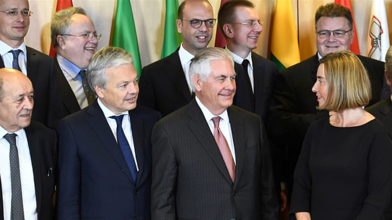 Tillerson backs Iran deal contradicting Trump