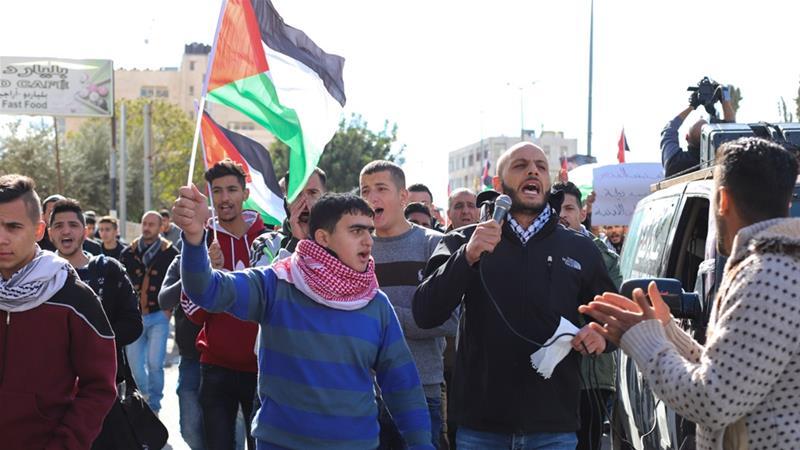 Image result for jerusalem marching against trump
