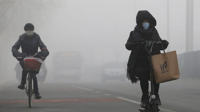 Beijing has spent much of this winter on yellow alert, a level of pollution that would be considered catastrophic in many other places [Jason Lee/Reuters]