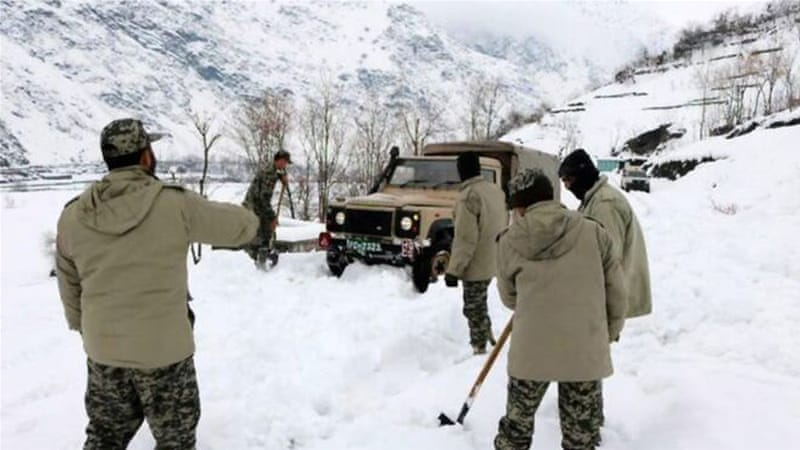 At least 13 people have perished in bad weather in Pakistan's Chitral [EPA]