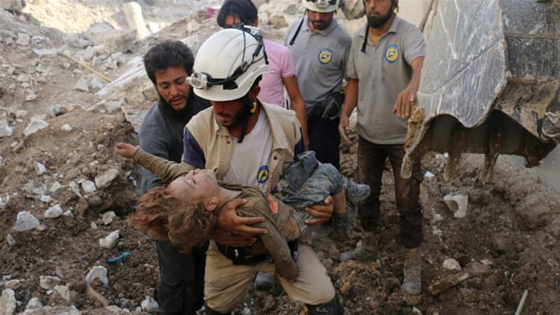 Aleppo war crimes