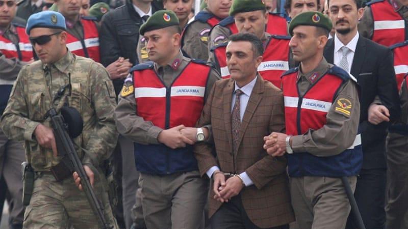 Trial begins for 44 suspected of Erdogan assassination attempt
