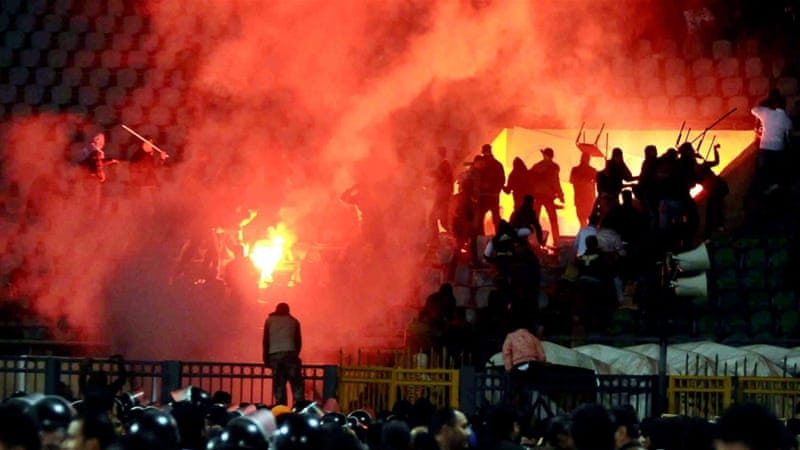 An Egyptian court confirmed the death sentences of 10 men for their part in the country's worst-ever football-related violence [EPA]