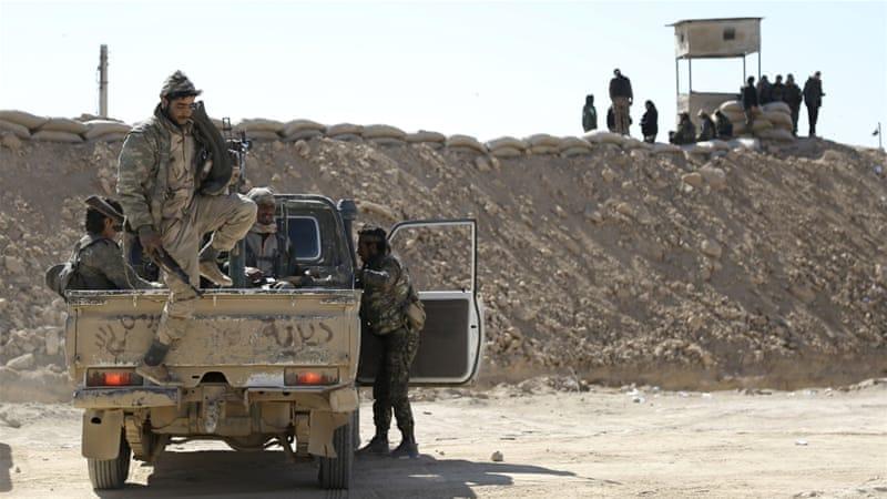 US-Backed Alliance Enters Deir Az Zor Province