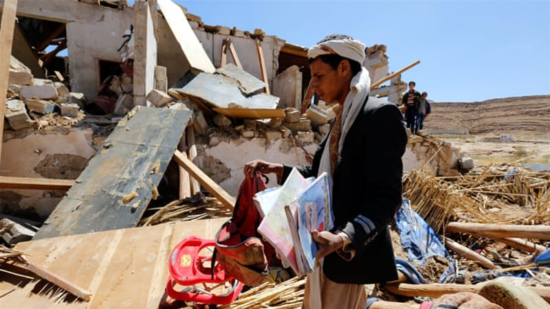 At least 10,000 people have died in the Yemen conflict [EPA]