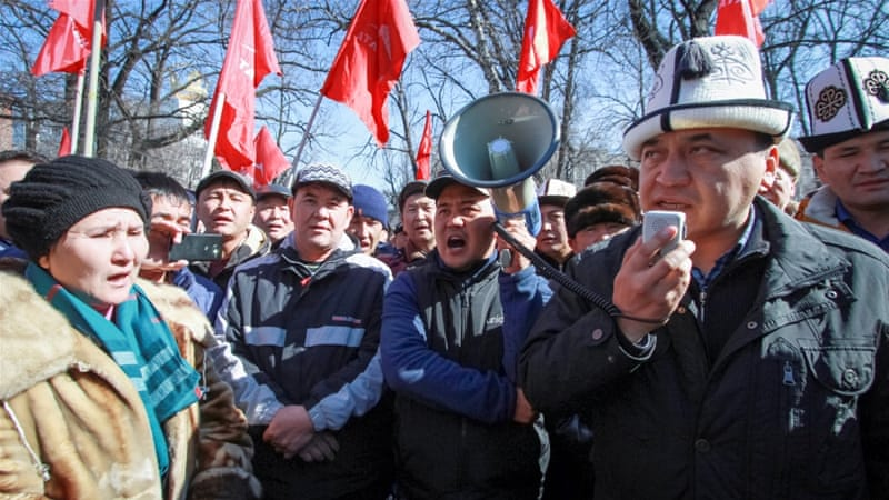 Kyrgyz Opposition Leader Almazbek Atambayev Detained