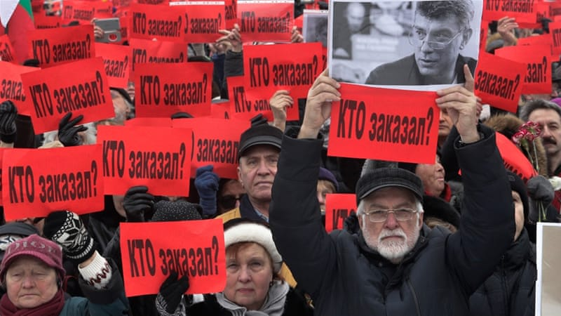 Moscow march remembers murdered activist