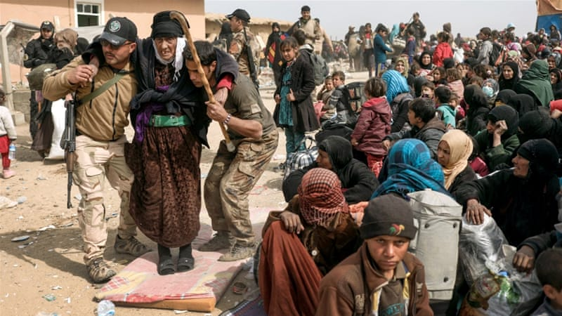450,000 displaced in Mosul camps