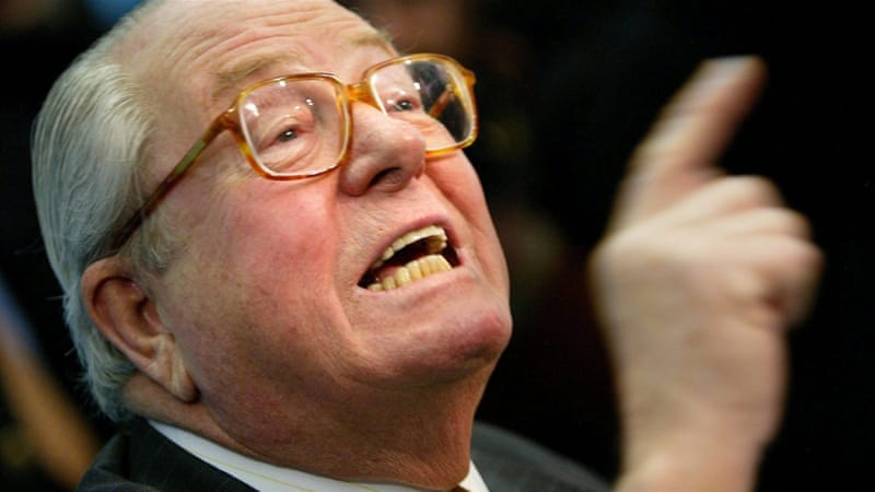 Jean-Marie Le Pen has previously been fined $32,000 for remarks about the Holocaust [File: Olivier Hoslet/EPA]