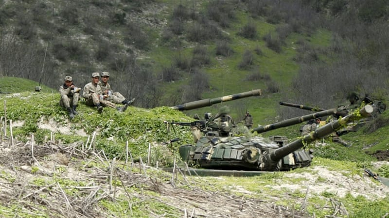 Attempts to relaunch a stalled peace process in Nagorno-Karabakh have failed [File: Reuters]