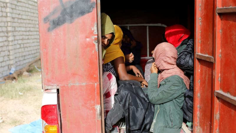 Refugee children abused in Libya