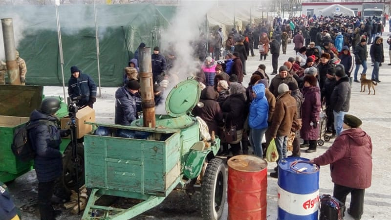 Avdiivka civilians caught in crossfire as clashes rage