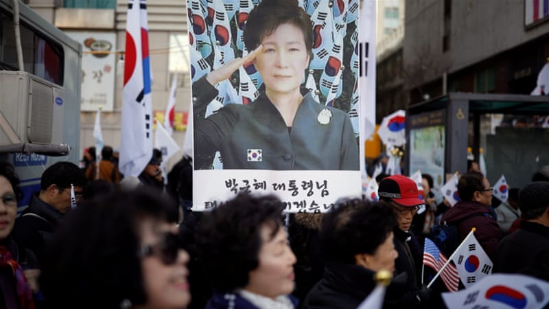 Supporters and opponents of the president have rallied for months in Seoul [Kim Hong-Ji/Reuters]