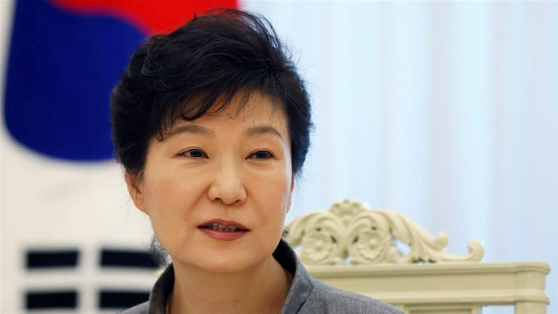 Park Geun-hye's trial began in May and a verdict is expected before April [File: Kim Hong-Ji/Reuters]